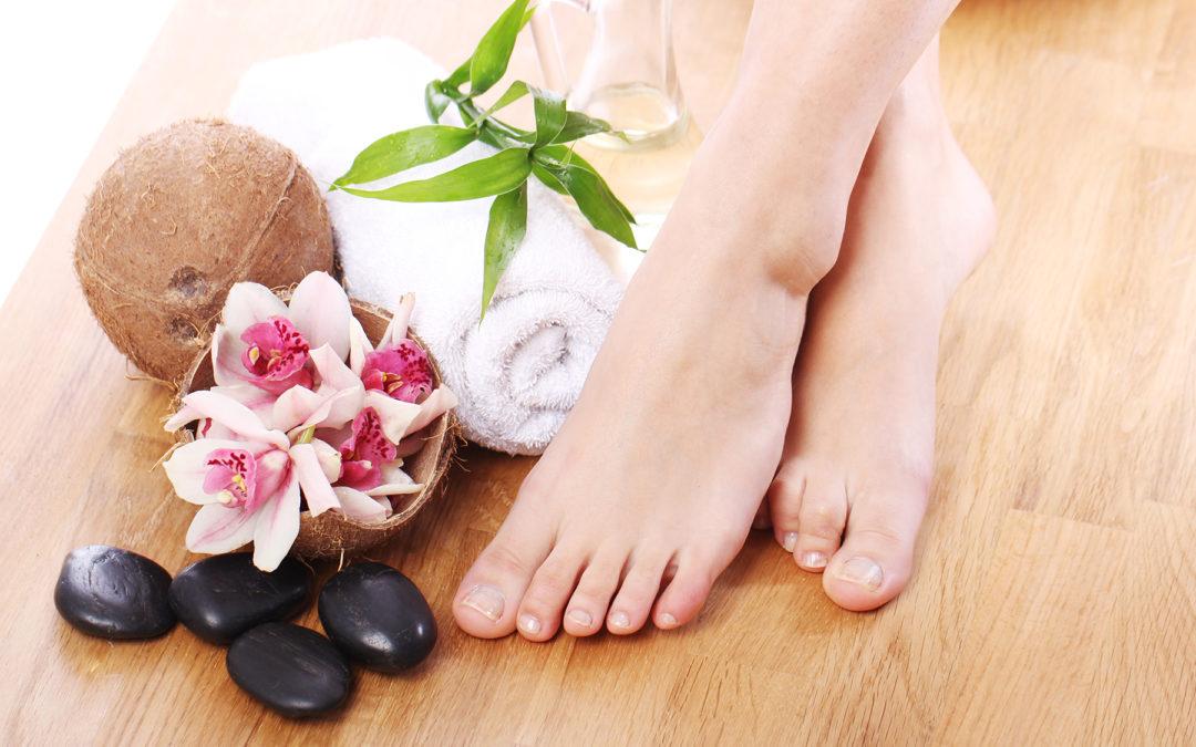 Masque nourrissant et hydratant pour les pieds