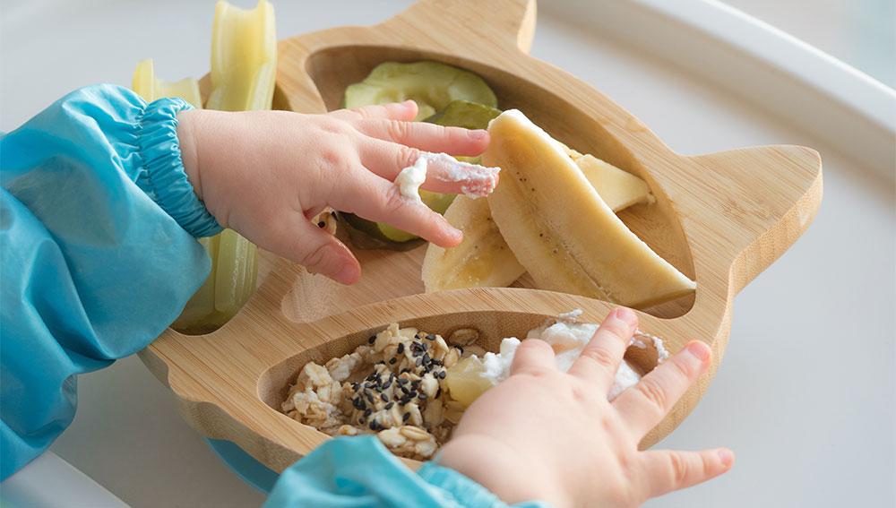 La DME ou diversification alimentaire menée par l'enfant